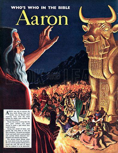 Who's who in the Bible: Aaron.