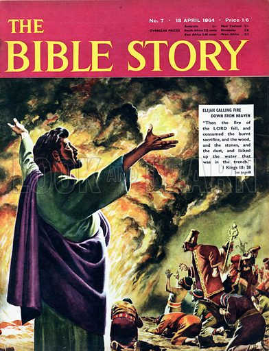 Elijah Calling Firec Down from Heaven