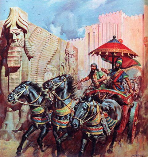 Conquerors of Israel.