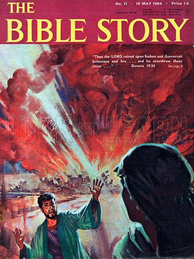 Destruction of Sodom and Gomorrah.