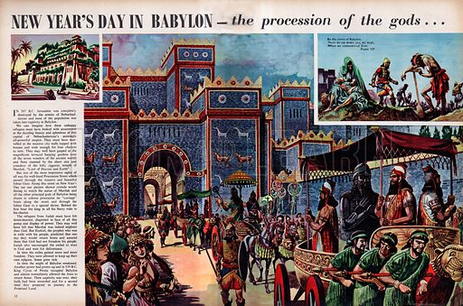New Year's Day in Babylon.