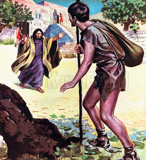 The Parable of the Prodigal Son, from St Luke 15: 11-32.
