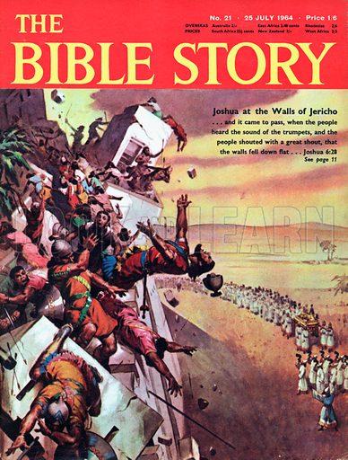 Joshua at the Walls of Jericho.