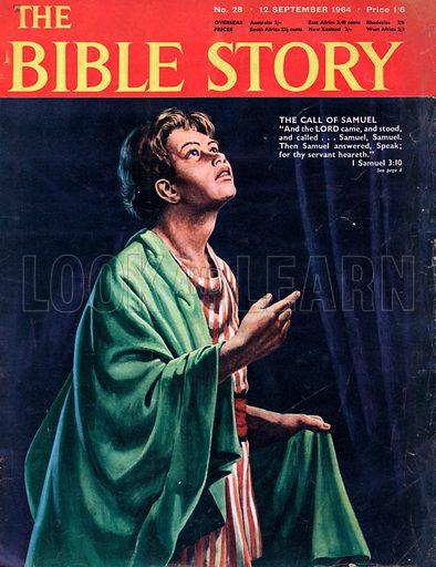 """Samuel.  """"Speak for thy servant heareth.""""  I Samuel 3:10."""