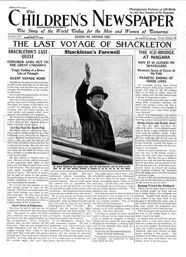 The Last Voyage of Shackleton