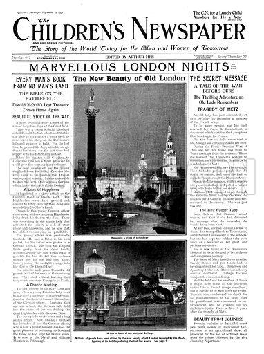 Electric illumination of London