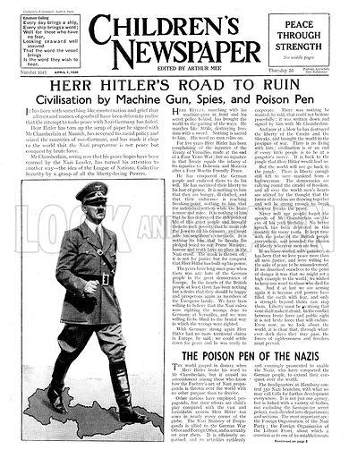 Herr Hitler's road to ruin