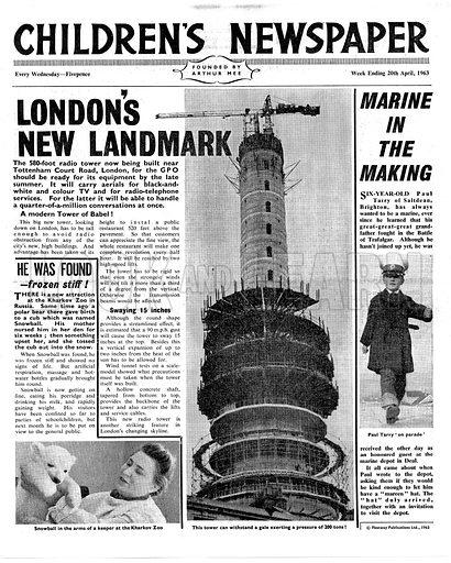 London's New Landmark: The Post Office Tower