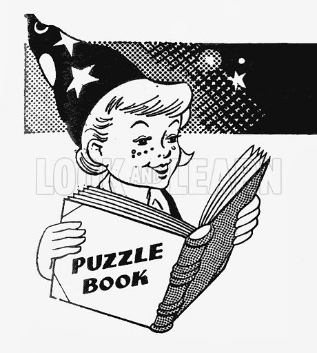 Willie Wizz and his Merry Puzzles. Puzzle page from Harold Hare's Own, 7 Jul 1962.