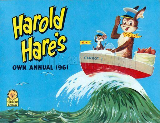 Harold Hare. Annual cover.