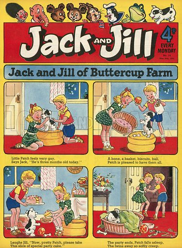 Jack and Jill front cover.