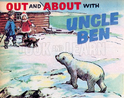 Out and About with Uncle Ben. Comic strip from Jack and Jill, 6 January 1962.