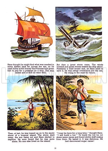 The Land Without Sugar. From Jack and Jill Annual 1966.