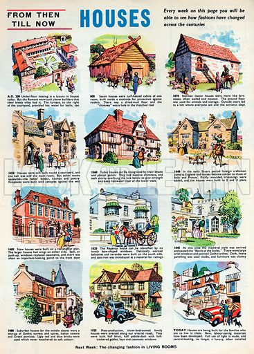From Then Till Now: Houses.