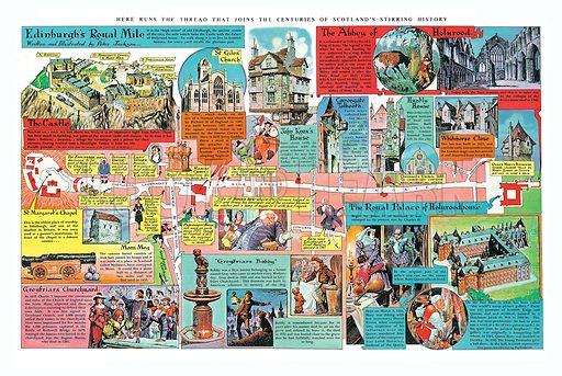 Edinburgh's Royal Mile.