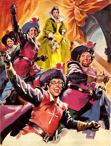 Three Musketeers.