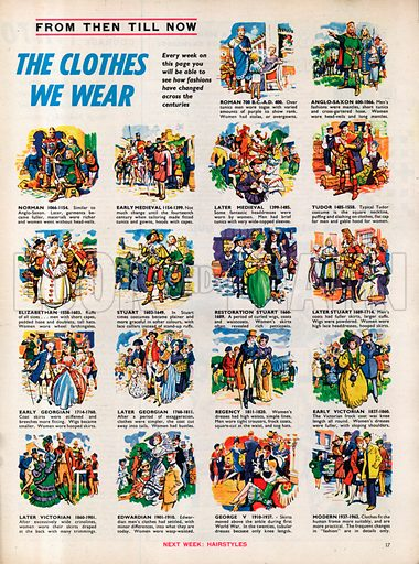 From Then Till Now: The Clothes We Wear.