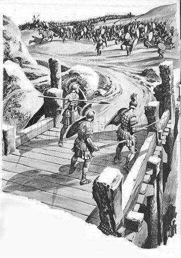 Horatius Holds the Bridge.