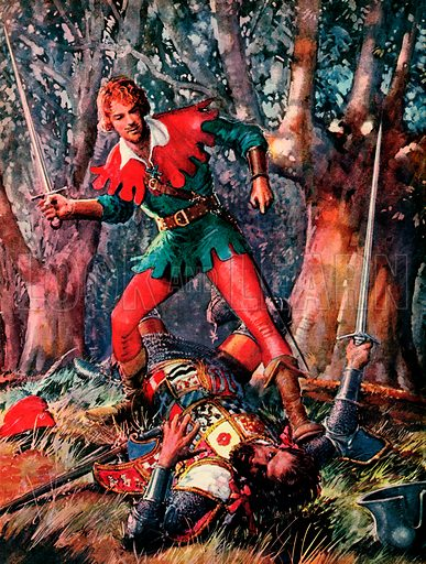 Robin Hood the Triumphant.