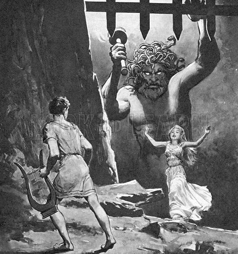 How Orpheus Went Into the Underworld.