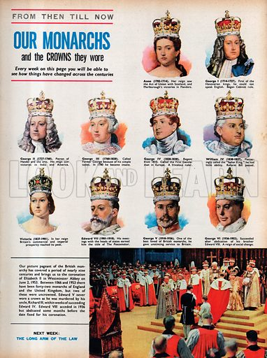 From Then Till Now: Our Monarchs and the Crowns They Wore.