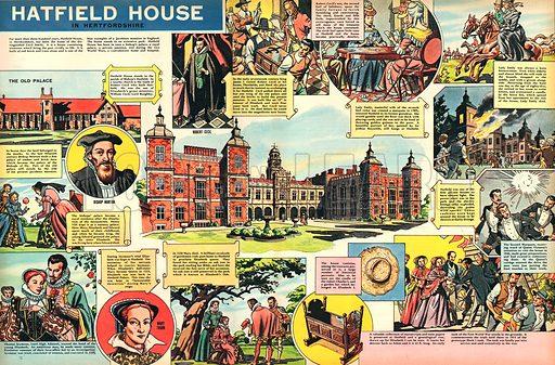 Hatfield House in Hertfordshire.