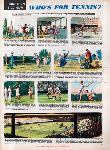 From Then Till Now: Who's For Tennis?.