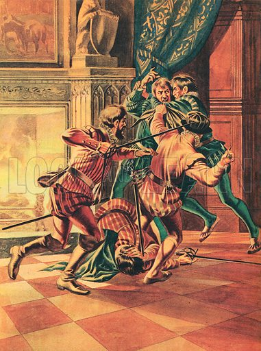 Murder of Henri, Duc de Guise.