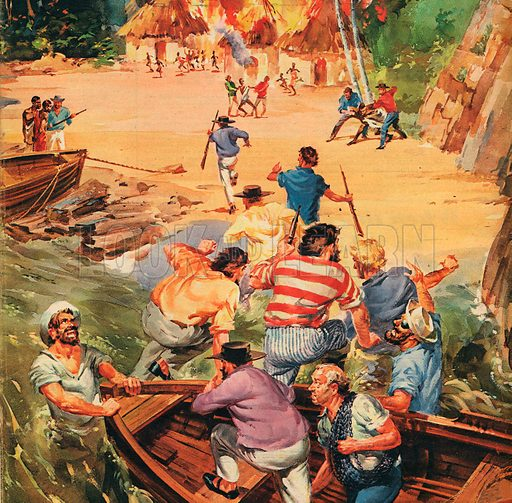 The Fight Against the Slaver Traders.