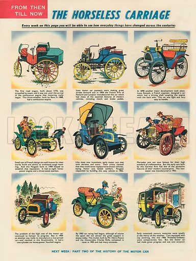 The Horseless Carriage.