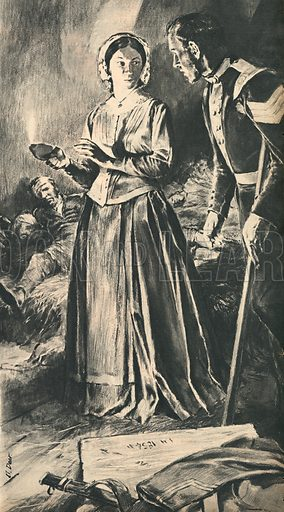 Florence Nightingale, Britain's Greatest Nurse.