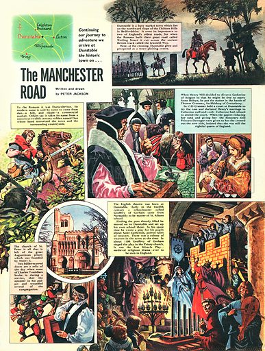 The Manchester Road.