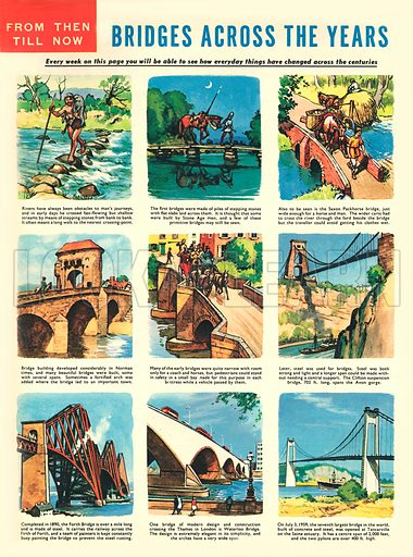 Bridges Across the Years.