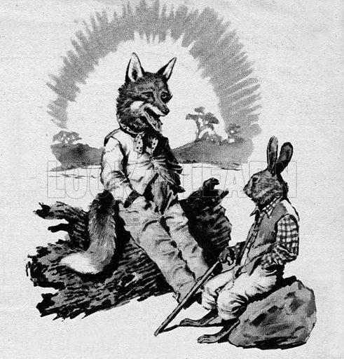 Brer Rabbit and Brer Fox.