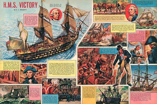 HMS Victory.