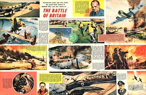 The Battle of Britain.