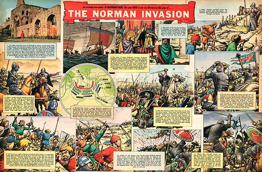 The Norman Invasion.