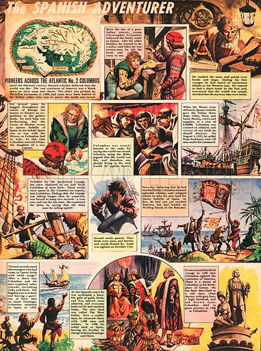 Christopher Columbus, the Spanish Adventurer.