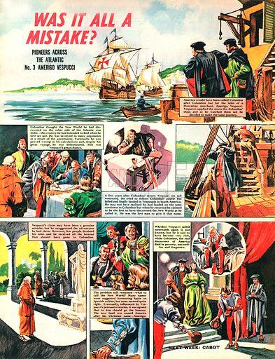 Pioneers Across the Atlantic: Amerigo Vespucci.
