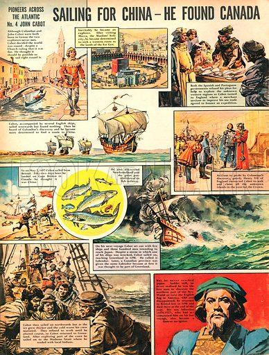 Pioneers Across the Atlantic: John Cabot.