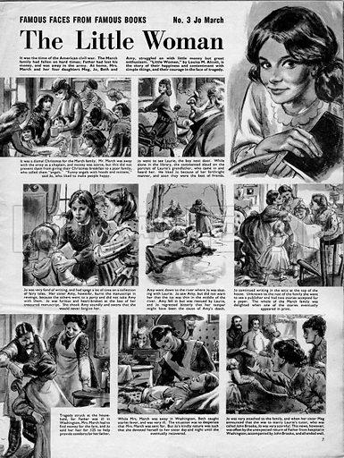 Famous Faces from Famous Books: Little Women.