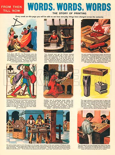 Words, Words, Words: The Story of Printing.