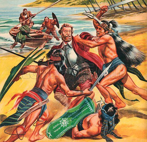 Pioneers Across the Atlantic: Ferdinand Magellan.