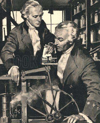 James Watt: The Man Who Harnessed Steam.