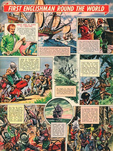 Pioneers Across the Atlantic: Sir Francis Drake.