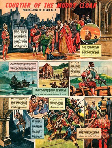Pioneers Across the Atlantic: Sir Walter Raleigh.