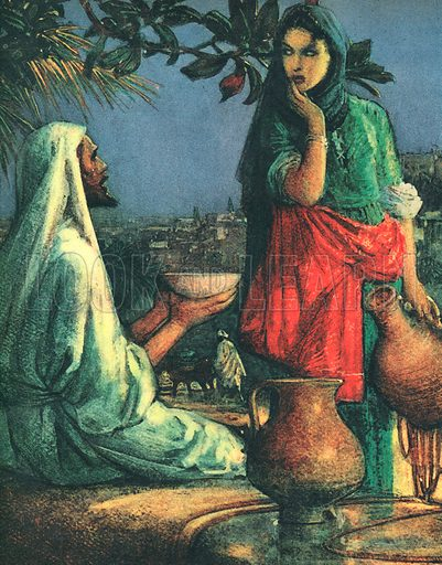 Jesus at Jacob's Well.