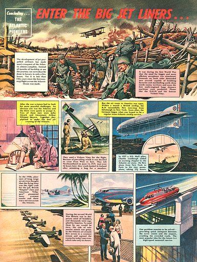 Pioneers Across the Atlantic: Enter the Big Jet Liners.