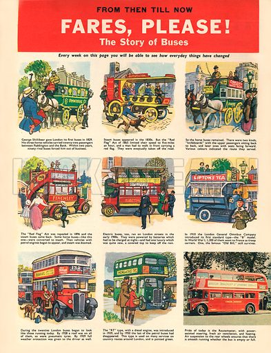 Fares, Please! The story of Buses.