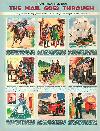 The Mail Goes Through. The history of the postal service.